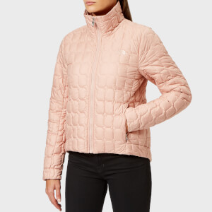 The North Face Women's Thermoball Crop Jacket - Misty Rose
