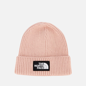 The North Face Women's TNF Logo Box Cuffed Beanie - 3Ym - Misty Rose