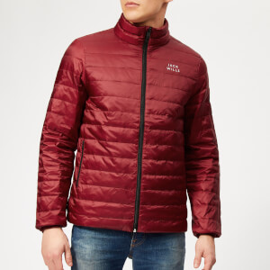Jack Wills Men's Nevis Lightweight Down Jacket - Damson
