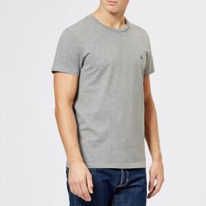 Jack Wills Men's Sandleford Classic Fit T-Shirt - Grey Marl