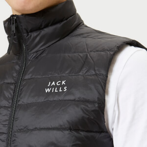 Jack Wills Men's Knole Core Gilet - Black: Image 4