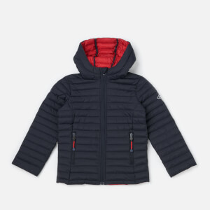 Joules Boys' Cairn Packaway Jacket - Marine Navy