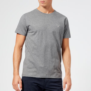 GANT Men's Original Short Sleeve T-Shirt - Dark Grey Melange