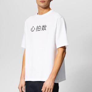 Axel Arigato Men's Heart Rate Metro Box Fit T-Shirt - White