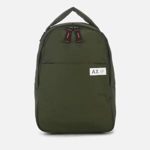 Armani Exchange Men s Padded Nylon Backpack - Climbing Ivy 607e34d801111
