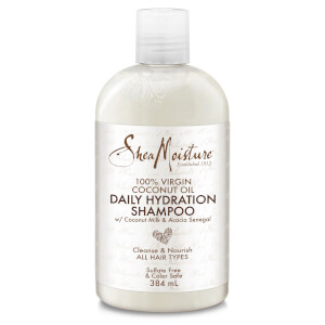 Shea Moisture 100% Virgin Coconut Oil Daily Hydration -shampoo 384ml