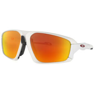 Oakley Field Jacket Sunglasses - Matte White/Prizm Ruby