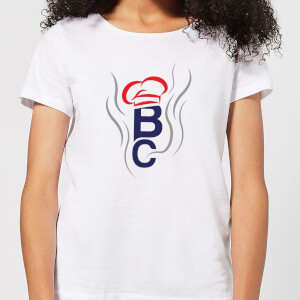 British Cook Letters Women's T-Shirt - White