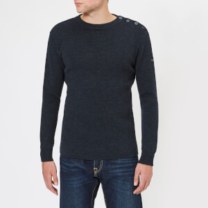 Armor Lux Men's Fisherman Knitted Jumper - Iroise Chine