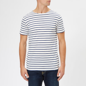 Armor Lux Men's Mariniere Heritage Short Sleeve T-Shirt - Milk/Polo