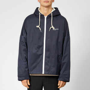 Drôle de Monsieur Men's Hooded Not From Paris Madame Jacket - Navy