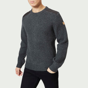 Fjallraven Men's Singi Knit Sweater - Dark Grey