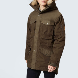 Fjallraven Men's Singi Winter Jacket - Dark Olive
