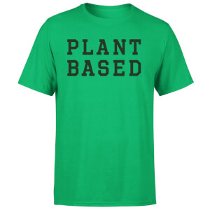 Plant Based Men's T-Shirt - Kelly Green