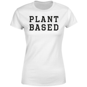 Plant Based Women's T-Shirt - White
