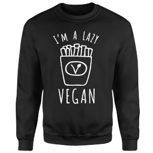 Lazy Vegan Sweatshirt - Black