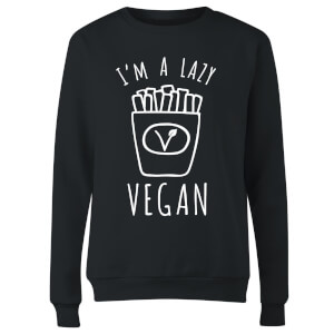 Lazy Vegan Women's Sweatshirt - Black