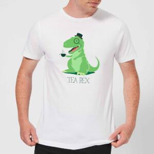 Tea Rex Men's T-Shirt - White