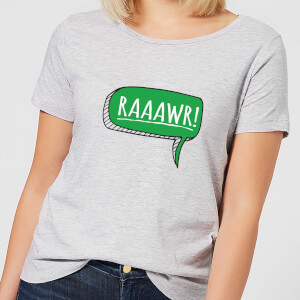 Raaawr Women's T-Shirt - Grey