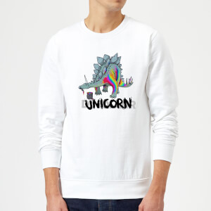 DinoUnicorn Sweatshirt - White