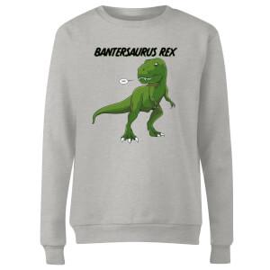 Bantersaurus Rex Women's Sweatshirt - Grey