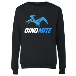 Dino Mite Women's Sweatshirt - Black