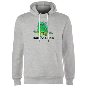 Daddysaurus Hoodie - Grey