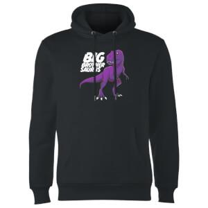 Im A Big Brothersaurus Hoodie - Black