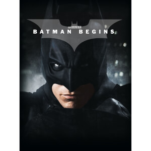 Batman Begins – 4K Ultra HD Limited Edition Film Book