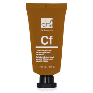 Dr Botanicals Apothecary Coffee Superfood Renewing Facial Exfoliator -kuorintavoide