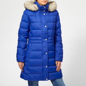 Tommy Hilfiger Women's New Tyra Down Coat - Mazarine Blue