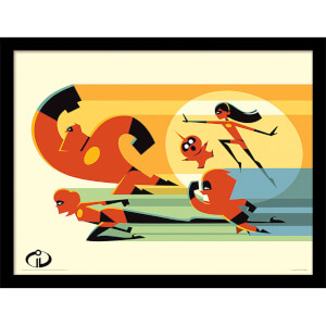 Incredibles 2 (To The Rescue) Framed 30 x 40cm Print