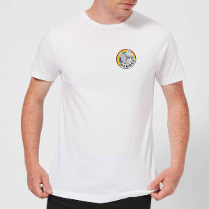 Rainbow George Pocket Men's T-Shirt - White