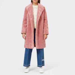 Stine Goya Women's Concord Faux Fur Coat - Rosette