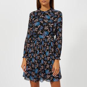 Whistles Women's Elderberry Print Dobby Dress - Blue/Multi