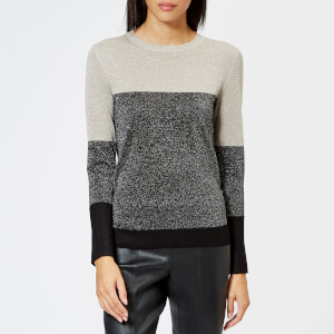 Whistles Women's Colour Block Sparkle Sweater - Multi