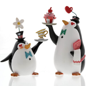 Figuras Pingüinos Camareros (Mary Poppins) - Disney Miss Mindy