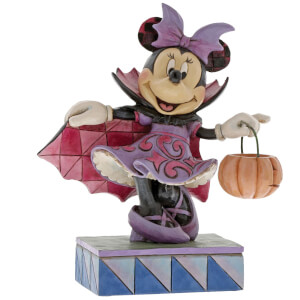 Disney Traditions Violet Vampire Minnie Mouse Figurine