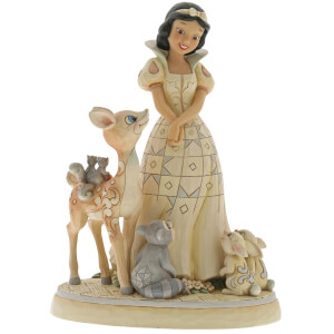 Disney Traditions Forest Friends White Wonderland Snow White Figurine