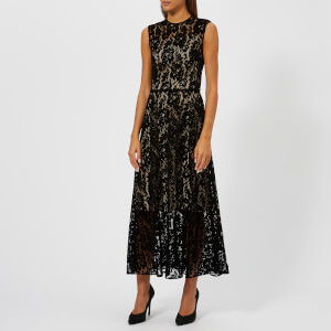 Christopher Kane Women's Flock Lace Dress - Black