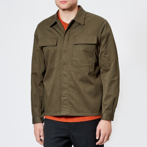 Universal Works Men's Chore Overshirt - Olive