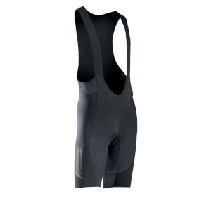 Northwave Fast Total Protection Bib Shorts - Black