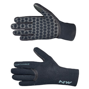 Northwave Storm Full Winter Gloves - Black