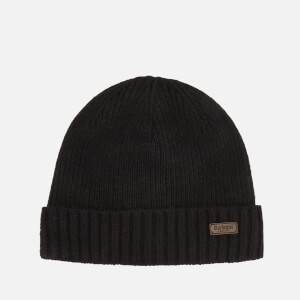 Barbour Men's Carlton Beanie Hat - Black
