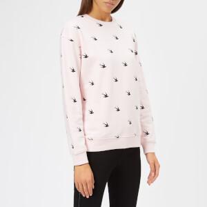 McQ Alexander McQueen Women's Classic Sweatshirt - Post It Pink
