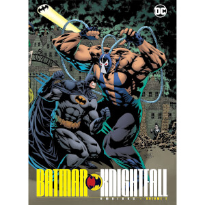 DC Comics Batman Knightfall Omnibus Hardcover Vol. 01