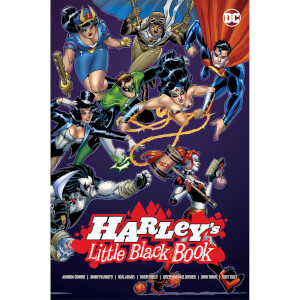 DC Comics Harley Quinn Harley's Little Black Book Hardcover