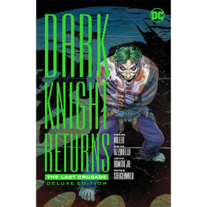 DC Comics Dark Knight Returns The Last Crusade Deluxe Edition Hardcover