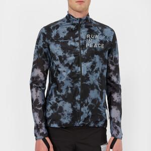 Satisfy Men's Ultra Light Running Jacket - Tie-Dye