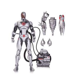 Figurine Cyborg Deluxe DC Icons